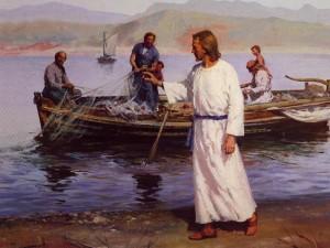 jesus e pescadores